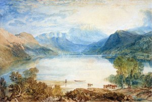J.M.W. Turner - Ullswater from Gobarrow Park